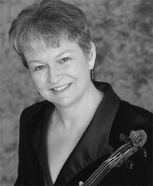 Violinist Margaret Baldridge performs with the Park City International Music Festival in July 2012