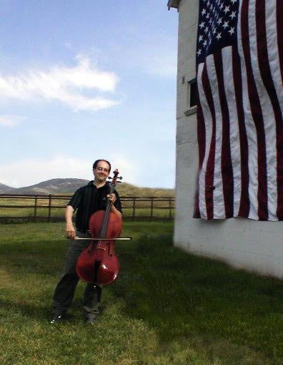 Mark Kosower, cellist, at the Park City International Music Festival